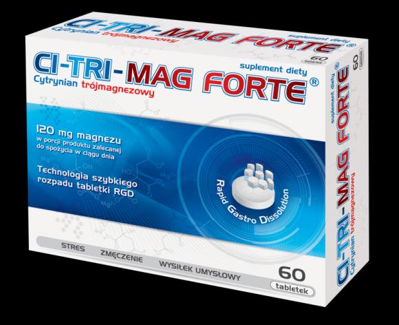 CI-TRI-MAG FORTE® – preparat magnezowy wysokiej jakości