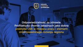 Profilaktyka chorób zakaźnych – dobra praktyka CSR.